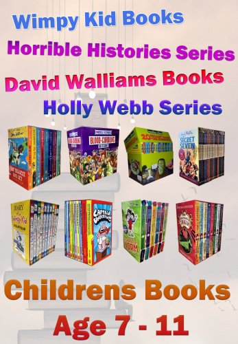 Snazal books, age 7, - age 11  (books for 7 - 11 year old, wimpy kid, horrible histories, david walliam, roald dahl)
