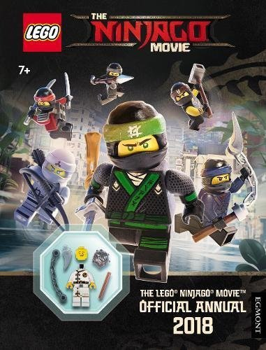 LEGO NINJAGO MOVIE: Official Annual 2018 - FREE LEGO TOY and Book