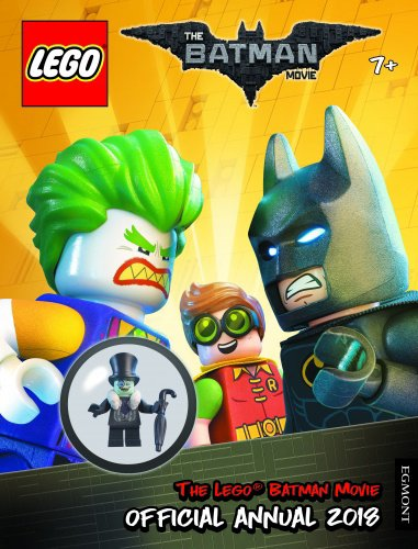 LEGO BATMAN MOVIE: Official Annual 2018 - FREE LEGO TOY and Book