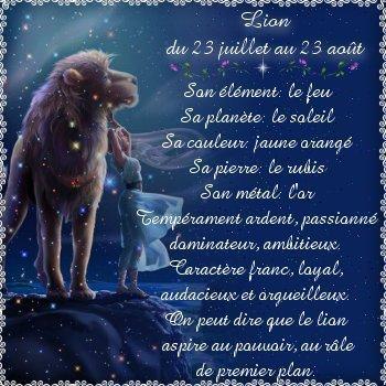 astrologie lion