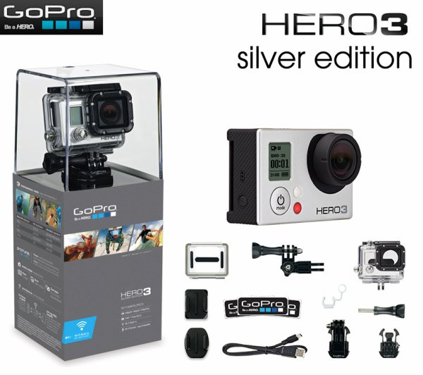 Gopro hero 3 sylver edition commandé c est bon sa !!!