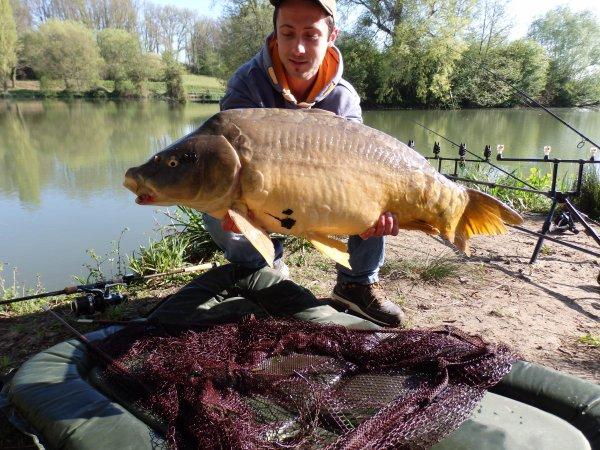 nouveau record 14.3 kg c est bon sa !!