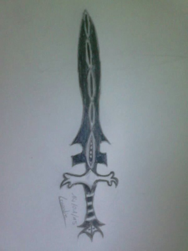 Épée sombre