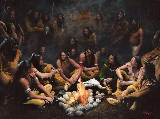"Cheyenne, ""Les Beaux Hommes""."