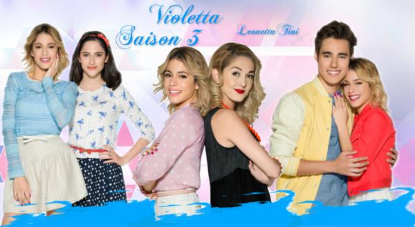 Répertoire de vidéos de Violetta 3 !!!
