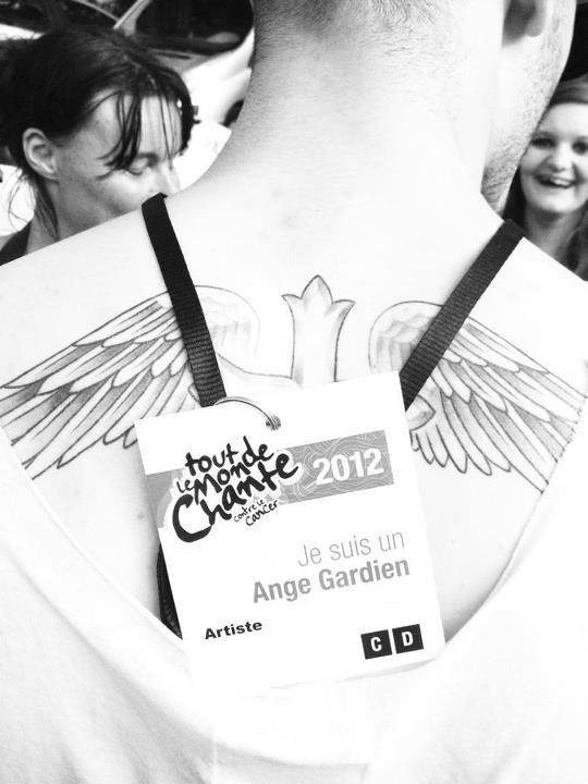 Baptiste a Tout Le monde chante contre le cancer le 7 juillet 2012