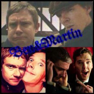 Images: acteurs: Benedict Cumberbatch et Martin Freeman
