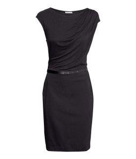 58e78a1ef27 Robe noire cintrée belle robe longue