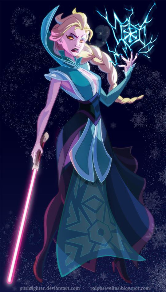 La Reine des Neiges (Version Star Wars)