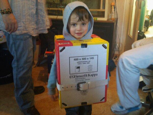Mon fils le robot