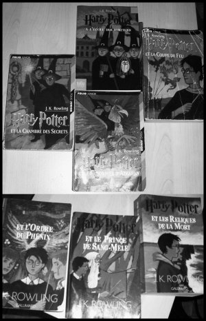 - Harry Potter, J.K. Rowling -