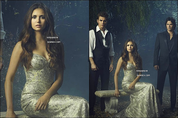 . Découvre un aperçut du shoot de la saison 4 de Vampire Diaries._____Ton avis ? .
