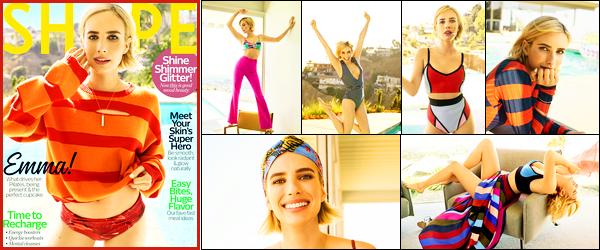 Emma R. fera la couverture du magazine « Shape » du mois de Décembre !
