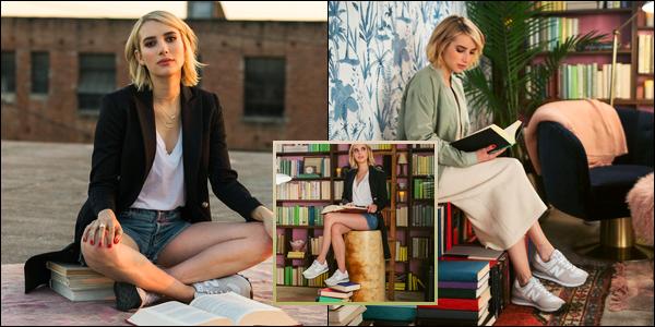 Découvrez trois photos du shoot pour « Belletrist & New Balance » d'Emma !