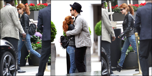 30.05.2016 ─ Emma Roberts a été photographiée, pendant, qu'elle se promenait dans les rues dans Londres, UK.Nous n'avons pas beaucoup de photo de cette sortie de l'adorable actrice. Sa tenue a plutôt l'air jolie. Le soir, Emma était présente au Lady dior party.