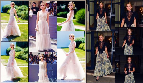 -02/07/2018- ─ Emma Roberts était présente lors du défilé de « Christian Dior » pour la fashion week, étant, dans Paris !La belle blondinette E. est donc désormais à Paris, visiblement pour la fashion week. Le lendemain elle a été vue quittant le dîner de DIOR ! Deux tops !