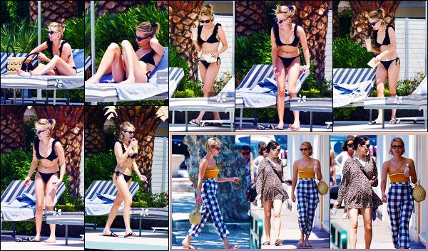 -29/06/2018- ─ Emma Roberts a été photographiée, alors, qu'elle profitait de la piscine de son hôtel étant à Saint-Tropez.La belle blondinette Emma R. a ensuite été photographiée dans les rues de Saint-Tropez ! Concernant sa tenue, c'est deux très jolies tops pour ma part !
