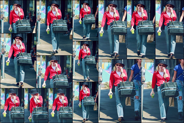 - ''•-12/09/18-' : Emma Roberts a été photographiée en se rendait à un restaurant, dans le quartier de Los Feliz. Le même jour, la jolie blonde a été photographiée sur le tournage de la série « American Horror Story : Apocalypse », dans Los Angeles ! -