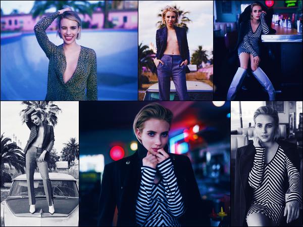 Découvrez le photoshoot pour « Rag & Bone Time of Day » d'Emma Roberts !