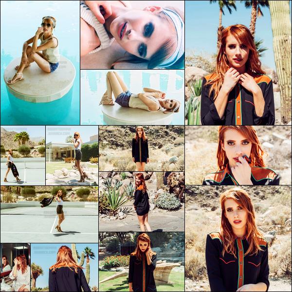 Découvrez le nouveau photoshoot pour « Coachella » de Emma Roberts !