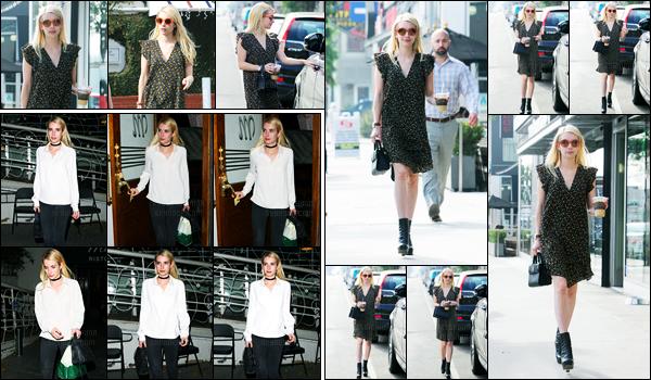 16.11.2016 ─ Emma Roberts a été photographiée pendant qu'elle faisait du shopping, étant dans West Hollywood.Plus tard dans la soirée, Emma R a été vue arrivant au restaurant Madeo. Concernant ses deux tenues, je suis fan, c'est donc deux gros top pour moi.