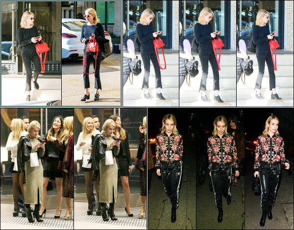 06.01.2017 ─ Emma Roberts a été vue alors qu'elle se rendait au magasin Barneys NewYork, étant à Beverly Hills.Plus tard dans la journée, dans la soirée, elle a été vue à une Gallery Show à Eric Buterbaugh Gallery... Concernant ces deux tenues, c'est deux tops !