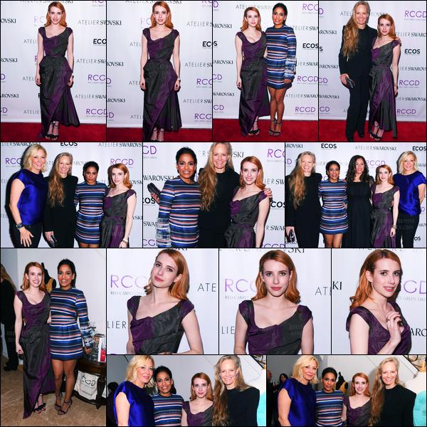 23.02.2017 ─ Emma Roberts était présente, à la soirée Green Dress Pre-Oscar Celebration, étant, à Los Angeles.Après quelques jours sans nouvelles, puisque Emma R. est en plein tournage, la revoilà ! Concernant sa tenue c'est beau gros top de ma part. Et vous?