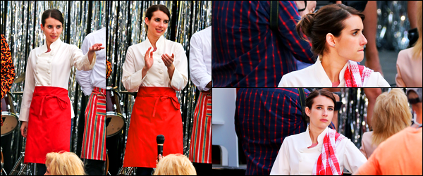 15.06.2017 ─ Emma Roberts a été photographiée alors qu'elle était sur le set du film « Little Italy » dans Toronto.Encore et toujours sur le tournage de son nouveau film, et cette fois dans une toute autre tenue qu'avant ! C'est pour ma part, flop, personnellement.