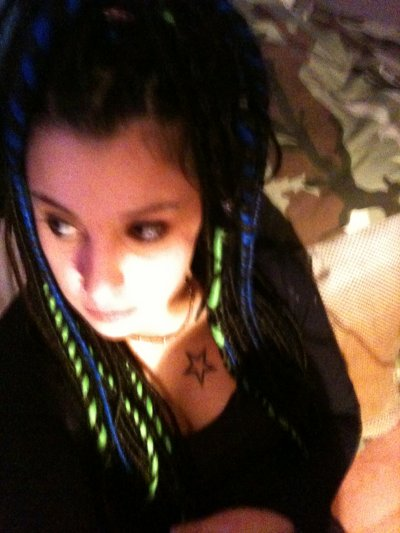 mes derniere dreads posé pour noel et le jour de l'an