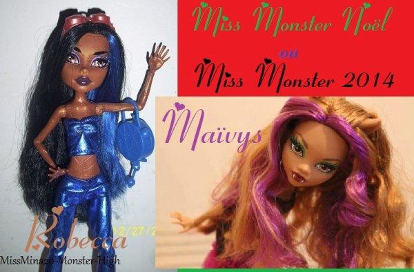Mes Deux Miss !