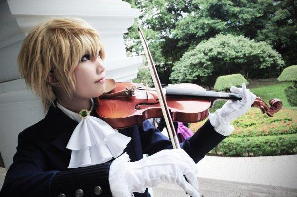 Oz joue du violon!