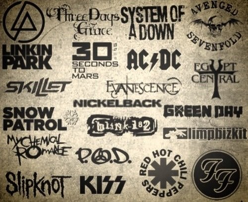 Rock & Metal bands