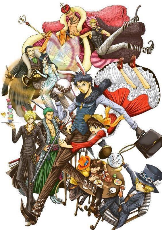 Luffy au pays des merveille
