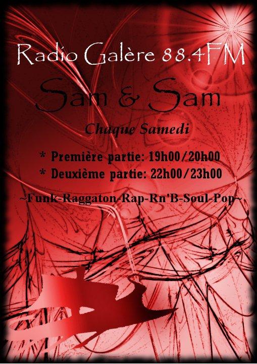 affiche de sam&sam 88.4 fm