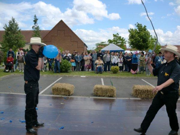 show fouet et lasso a grenay 9 juin 2012