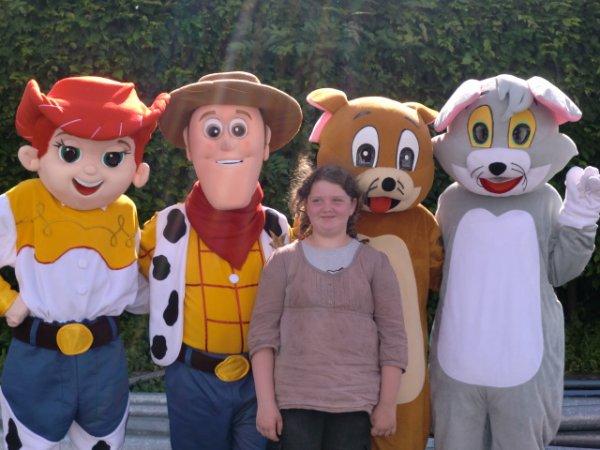 4 mascottes a lallaing