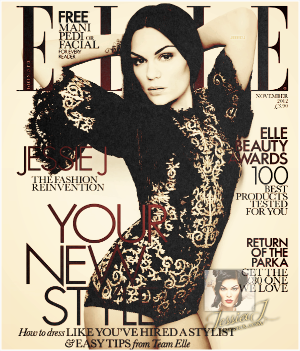 SHOOTING Octobre - Photoshoot de Jessie sur ELLE UK