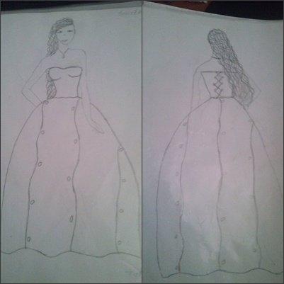 Une Robe que j'ai crée