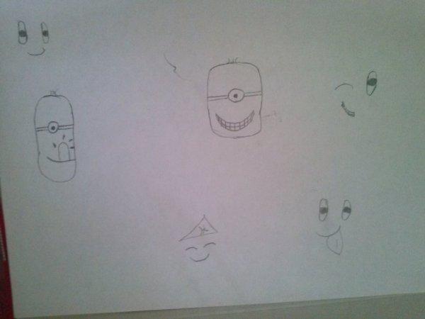 Des smiley et les Minions dans Moi Moche et Méchant