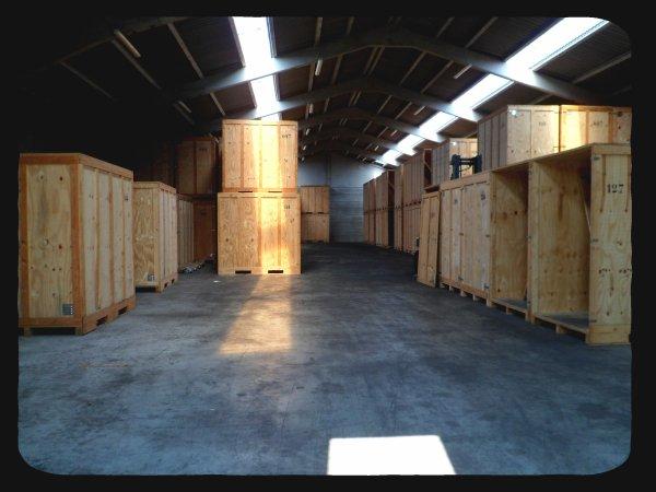 Besoin d'entreposer vos biens? nous disposons d'un garde-meubles!