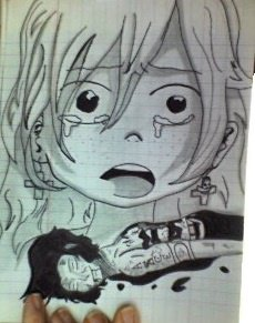 Ann à la mort de Ace