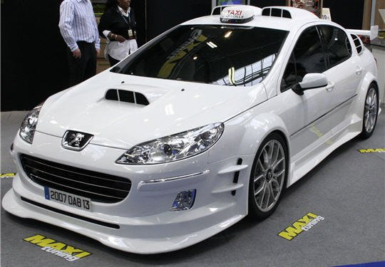 peugeot 407 du film taxi 4 elle tros belle blog de tuning police voiture. Black Bedroom Furniture Sets. Home Design Ideas
