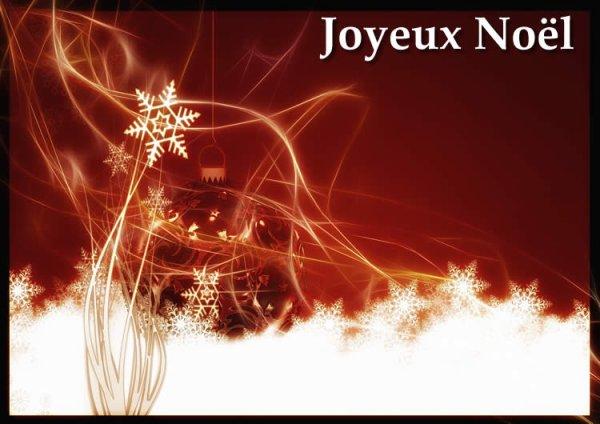 je vous souhaite un joyeux noël a tous