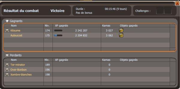Ma plus belle victoire avec mon ami Aulocost :)
