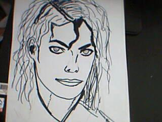 MJ dessin