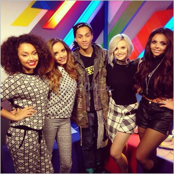05/11/13 Little Mix étaient à l'émission matinale Daybreak sur la chaîne ITV pour Move.