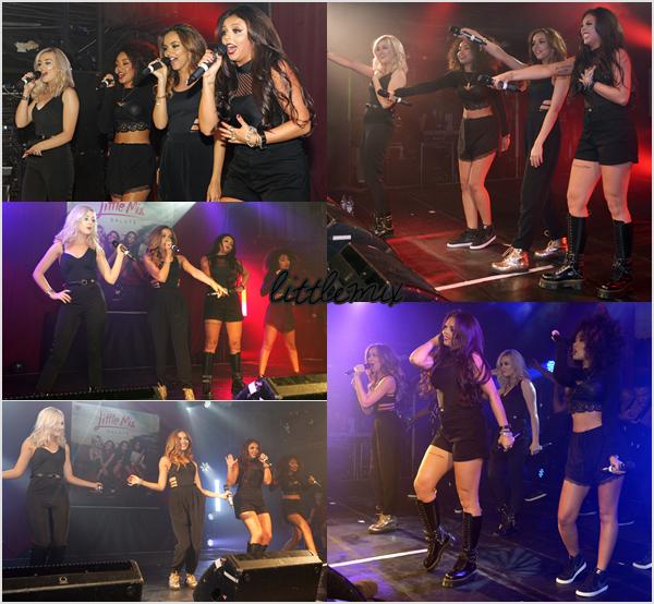 09/11/13 Little Mix ont fait un showcase au GAY Heaven Nightclub pour la promo de Salute.