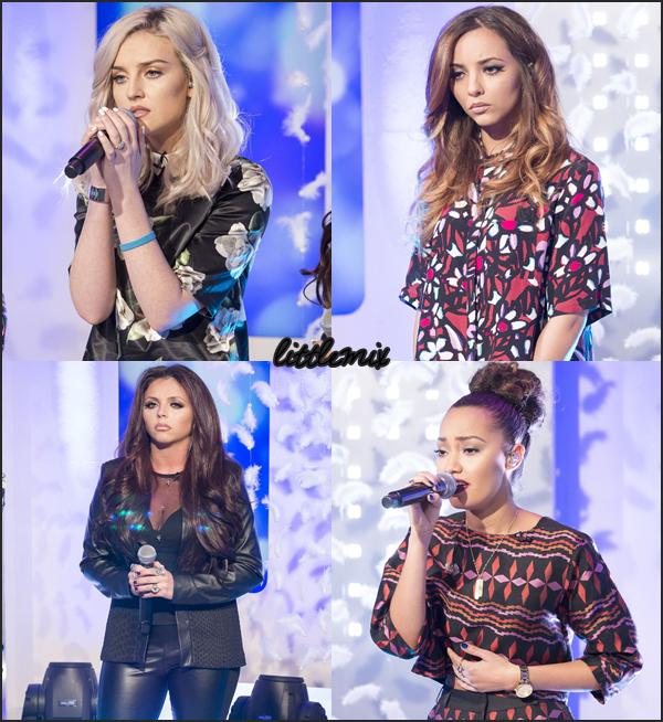 15/11/13 Little Mix ont chanté These Four Walls et ont été interviewé dans This Morning