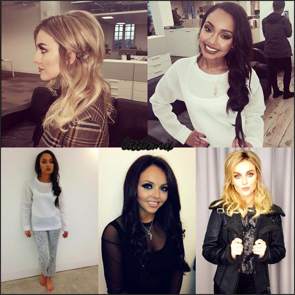 22/11/13 Little Mix quittait les studios Riverside surement après avoir enregistré une émission.