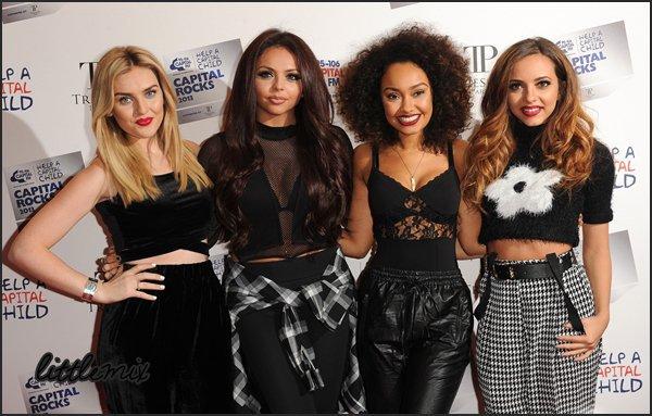 29/11/13 Little Mix ont fait une performance au concert Metro Radio Live
